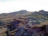 Approaching the summit ridge of Craig Eigiau - geograph.org.uk - 750943.jpg