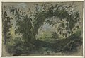 """Arch of Morning Glories, study for """" A Basket of Flowers"""" MET DP813400.jpg"""