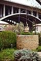 Area under the Colorado Street Bridge in Pasadena, Los Angeles, California. 05.jpg