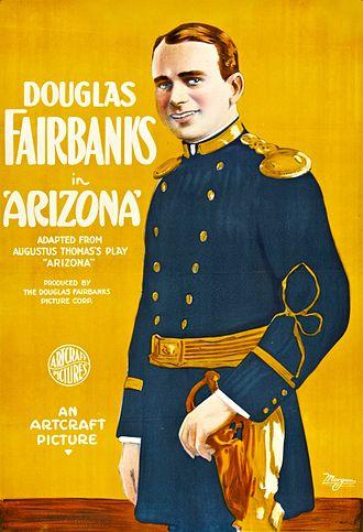 Arizona (1918 film) - Lobby poster