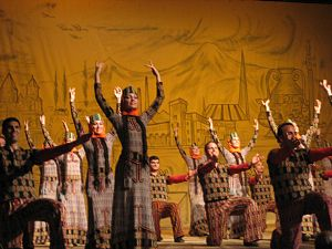 Armenian dance - Traditional Armenian Dance