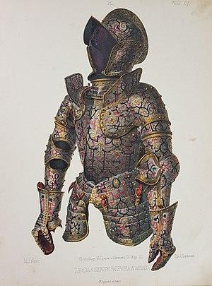 """Mikołaj Krzysztof """"the Orphan"""" Radziwiłł - Armour of prince Mikołaj Krzysztof Radziwiłł"""