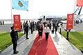Arriba al Aeropuerto Internacional Jorge Chávez de Lima, para iniciar su participación en la XXIV Cumbre de líderes de APEC (31012136082).jpg