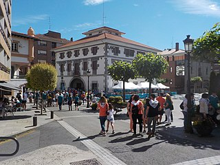 Arrigorriaga Municipality in Basque Country, Spain
