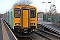 Arriva Trains Wales Class 150, 150253, Neston railway station (geograph 3800394).jpg
