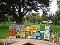 Art in Parque El Ejido Quito Ecuador.JPG