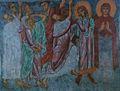 Ascention of Jesus Fresco in Saint Nicholas Church in Melnik.jpg