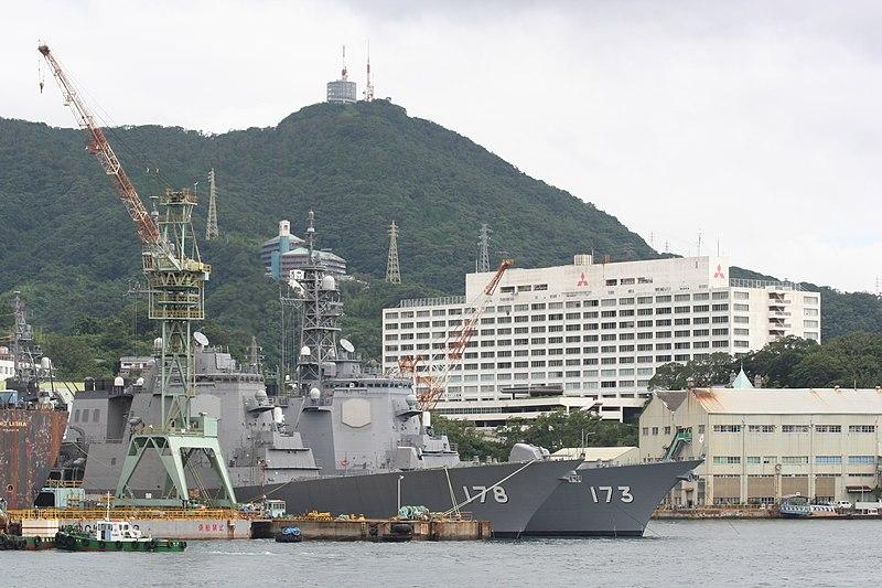 Armée Japonaise/Japan Self-Defense Forces 800px-Ashigara%26Mt.Inasa%26Mitsubisi