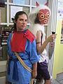 Ashitaka & San cosplayers at 2010 NCCBF 2010-04-18.JPG