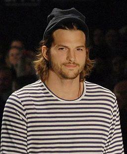 Ashton Kutcher, o modelo mais esperado dessa edição da SPFW @ São Paulo Fashion Week em Junho de 2011 cropped