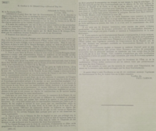 Asia Minor Agreements - Paul Cambon, Ambassade de France (French Embassy), Londres to Sir Edward Grey, 9 May 1916.png