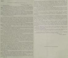 Acuerdos de Asia Menor - Paul Cambon, Ambassade de France (Embajada de Francia), Londres a Sir Edward Gray, 9 de mayo de 1916.png