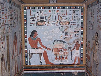 Art of ancient Egypt - Paintings from Tomb of Sarenput II