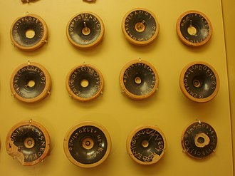 Ostracism - Ostraca from 482 BC