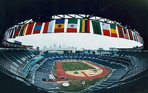 Centennial Olympic Stadium - Interior of the stadium during the 1996 Paralympic Games