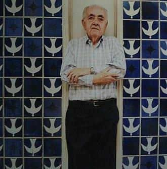 Athos Bulcão - Image: Athos bulcao painel sede