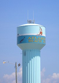 Atlantic Beach Water Tower.JPG