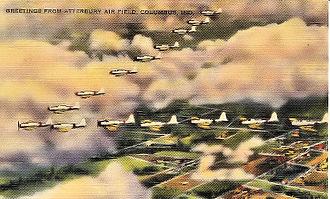 Bakalar Air Force Base - World War II Postcard