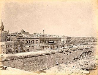 Auberge de Bavière - Auberge de Bavière et Angleterre in the 1870s