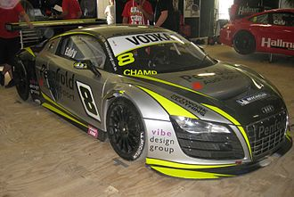 Australian GT Championship - The Audi R8 LMS of 2011 champion Mark Eddy
