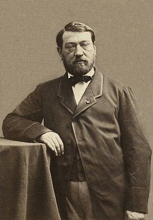 Auguste Mariette by Nadar, ca.1861