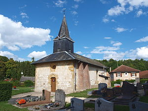 Aure, Ardennes - The Church