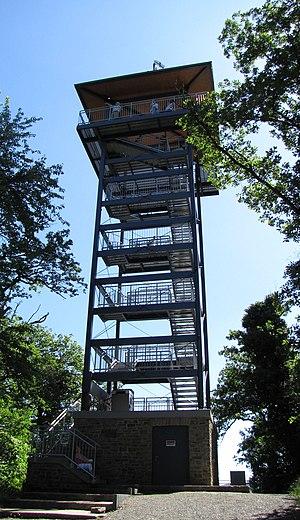 Pünderich - Lookout tower on the Prinzenkopf