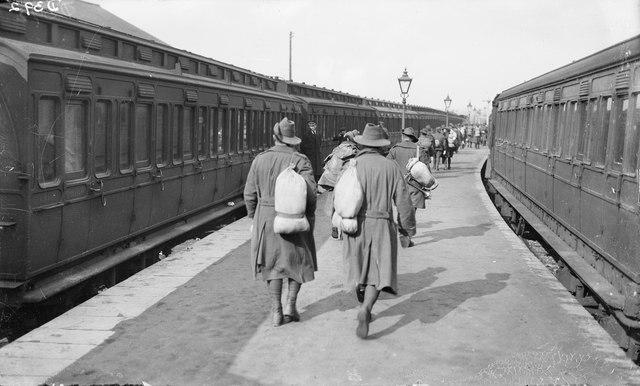Australian soldiers Weymouth 1919