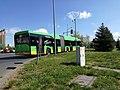 Autobus miejski MPK Poznań linii 174 na ulicy Pawiej w Poznaniu - kwiecień 2020.jpg