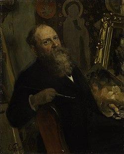 Autoportree, Eduard von Gebhardt, EKM j 5101 M 2839.jpg