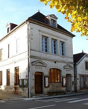 Autricourt - The Town Hall / School