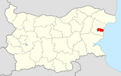Avren Municipality Within Bulgaria.png