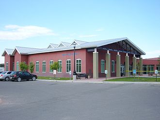 Aztec, New Mexico - Aztec Public Library (2008)