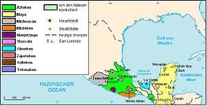 Das Aztekenreich hatte viele Enklaven