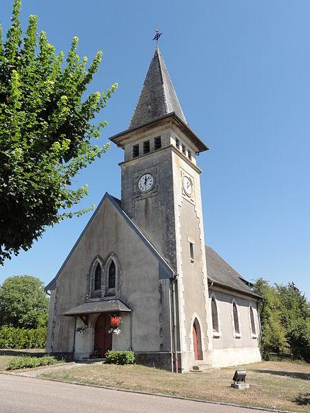 Béthincourt (Meuse) église