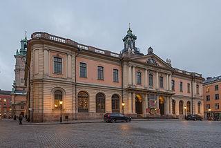 Stockholm Stock Exchange Building building