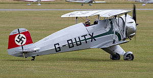Bücker Bü 133 - Bü 133C Jungmeister at Flying Legends (2011)
