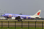 B-2376 - Air China - Airbus A320-214 - Purple Peony Livery - CAN (14005397172).jpg