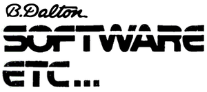 B. Dalton - Software Etc.'s logo when launched by B. Dalton in 1985