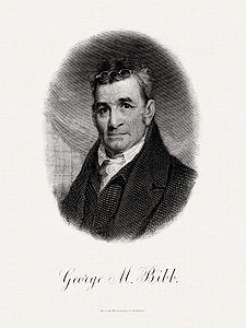 BIBB, George M-Treasury (BEP engraved portrait)