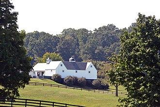 Burrland Farm Historic District - Image: BURRLAND FARM HISTORIC DISTRICT, FAUQUIER COUNTY