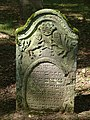 Bad Rappenau - Heinsheim - Jüdischer Friedhof - Grabstein mit Löwen Judas 2.jpg
