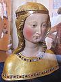 Badia a settimo, refettorio dei monaci, busto di sant'orsola 02.JPG