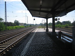 Mainz-Mombach station railway station in Germany