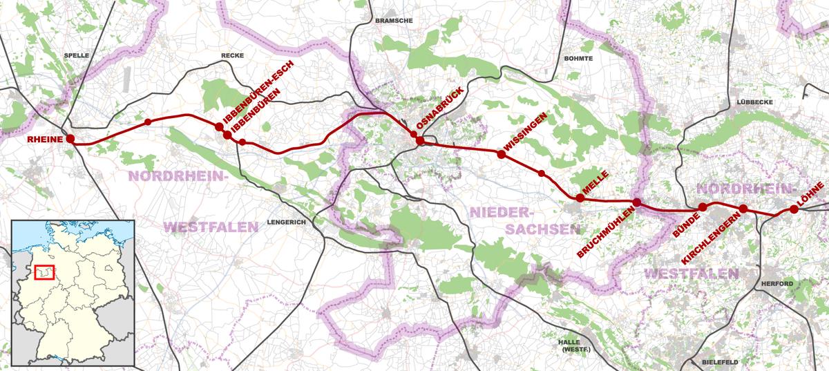 L 246 Hne Rheine Railway Wikipedia
