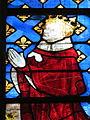 Baie 210 détail Charles VI (Notre-Dame, Évreux).JPG