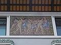 Bajza utca 42, seven women mosaic, 2019 Terézváros.jpg