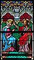 Baltringen St.-Nikolaus-Kirche Chor Südfenster Marienkrönung Detail 2010 08 01.jpg
