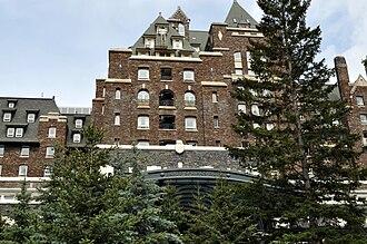Banff Springs Hotel - Image: Banff Springs Hotel 1
