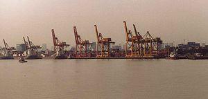 Khlong Toei District - Cranes, Khlong Toei harbour